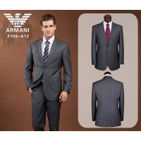 Armani Suits Long Sleeved Polo For Men #490152