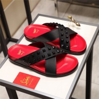 Christian Louboutin CL Slippers For Men #490394