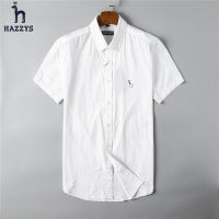 HAZZYS Fashion Shirts Short Sleeved For Men #492206