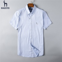 HAZZYS Fashion Shirts Short Sleeved For Men #492207