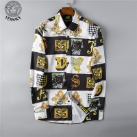 Versace Fashion Shirts Long Sleeved For Men #492209