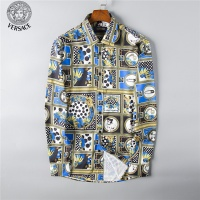 Versace Fashion Shirts Long Sleeved For Men #492210