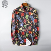Versace Fashion Shirts Long Sleeved For Men #492211