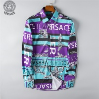 Versace Fashion Shirts Long Sleeved For Men #492215