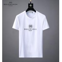 Balenciaga Fashion Shoes Short Sleeved O-Neck For Men #492713