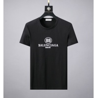 Balenciaga Fashion Shoes Short Sleeved O-Neck For Men #492715