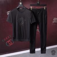 Versace Tracksuits Short Sleeved O-Neck For Men #492807