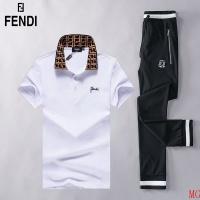 Fendi Tracksuits Short Sleeved Polo For Men #493018