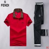 Fendi Tracksuits Short Sleeved Polo For Men #493021