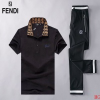 Fendi Tracksuits Short Sleeved Polo For Men #493022