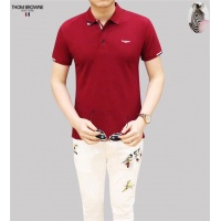 Thom Browne T-Shirts Short Sleeved Polo For Men #493029