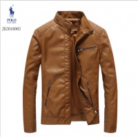Ralph Lauren Polo Leather Jackets Long Sleeved Zipper For Men #493963