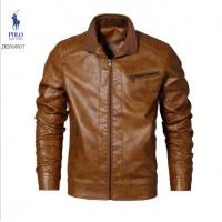 Ralph Lauren Polo Leather Jackets Long Sleeved Zipper For Men #494099