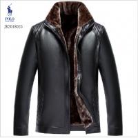 Ralph Lauren Polo Leather Jackets Long Sleeved Zipper For Men #494176