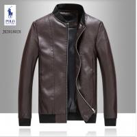 Ralph Lauren Polo Leather Jackets Long Sleeved Zipper For Men #494187