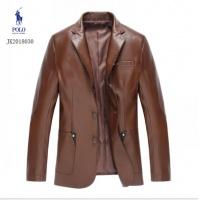 Ralph Lauren Polo Leather Jackets Long Sleeved Zipper For Men #494196