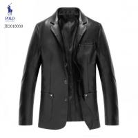 Ralph Lauren Polo Leather Jackets Long Sleeved Zipper For Men #494198