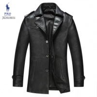 Ralph Lauren Polo Leather Jackets Long Sleeved Polo For Men #494205