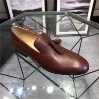 Philipp Plein PP Leather Shoes For Men #495210