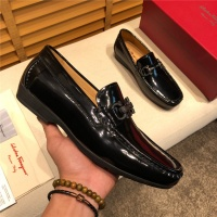 Salvatore Ferragamo SF Leather Shoes For Men #495339