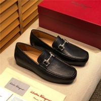 Salvatore Ferragamo SF Leather Shoes For Men #495340