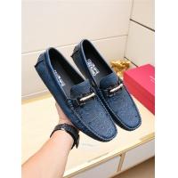 Salvatore Ferragamo SF Leather Shoes For Men #495348