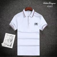 Ferragamo Salvatore FS T-Shirts Short Sleeved Polo For Men #495529