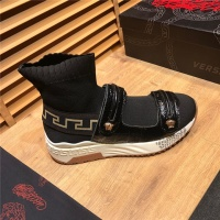 Versace High Tops Shoes For Men #496223