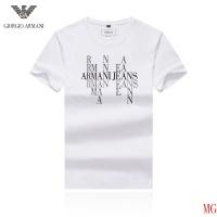 Armani T-Shirts Short Sleeved O-Neck For Men #496471