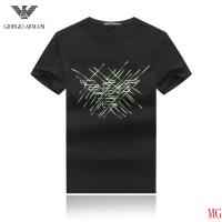 Armani T-Shirts Short Sleeved O-Neck For Men #496484