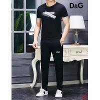 Dolce & Gabbana D&G Tracksuits Short Sleeved O-Neck For Men #496548