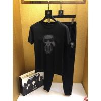 Fendi Tracksuits Short Sleeved O-Neck For Men #496612