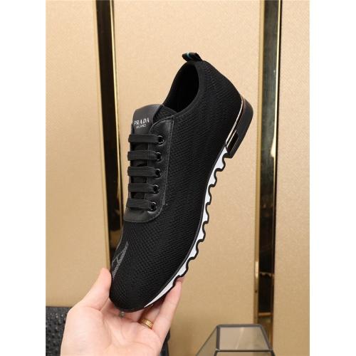 Cheap Prada Casual Shoes For Men #497695 Replica Wholesale [$72.75 USD] [W#497695] on Replica Prada New Shoes