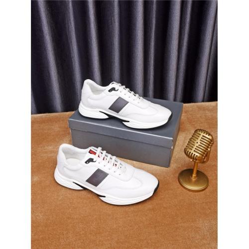 Cheap Prada Casual Shoes For Men #497701 Replica Wholesale [$77.60 USD] [W#497701] on Replica Prada New Shoes