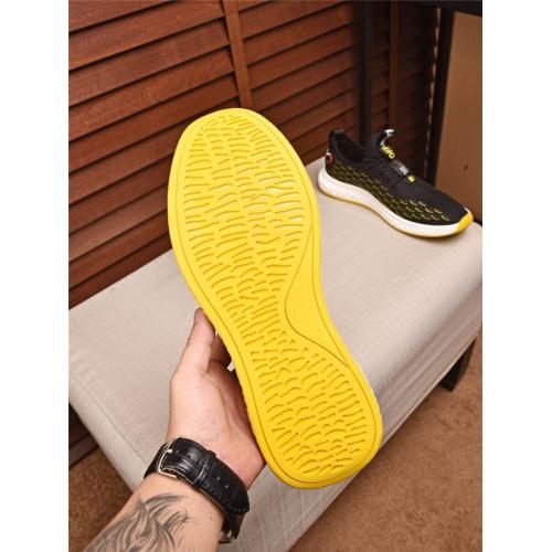 Cheap Prada Casual Shoes For Men #497708 Replica Wholesale [$75.66 USD] [W#497708] on Replica Prada New Shoes