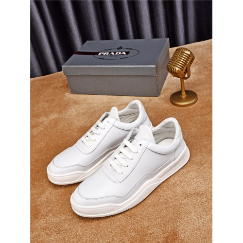 Cheap Prada Casual Shoes For Men #497719 Replica Wholesale [$77.60 USD] [W#497719] on Replica Prada New Shoes