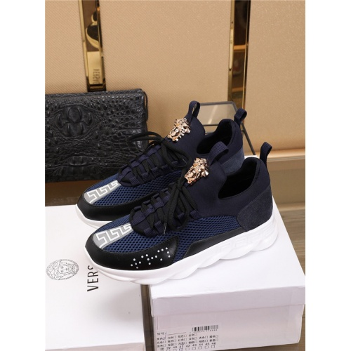 Cheap Versace Casual Shoes For Men #497788 Replica Wholesale [$75.66 USD] [W#497788] on Replica Versace Fashion Shoes