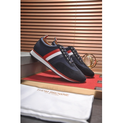Cheap Thom Browne Casual Shoes For Men #497863 Replica Wholesale [$77.60 USD] [W#497863] on Replica Thom Browne Shoes