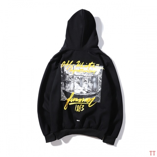 Cheap Off-White Hoodies Long Sleeved Hat For Men #497982 Replica Wholesale [$38.80 USD] [W#497982] on Replica Off-White Hoodies