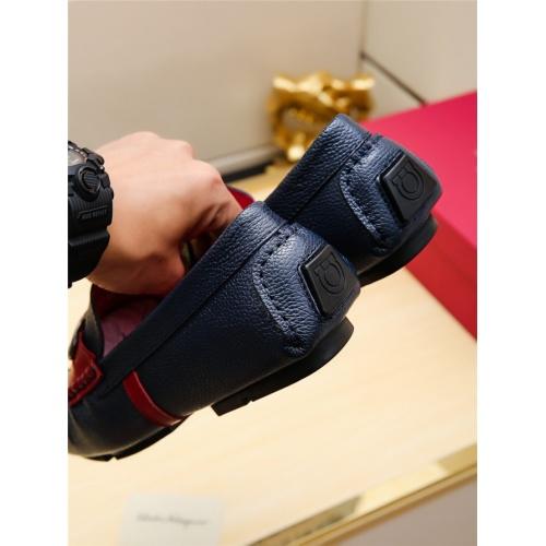 Cheap Salvatore Ferragamo SF Leather Shoes For Men #498112 Replica Wholesale [$66.93 USD] [W#498112] on Replica Ferragamo Leather Shoes