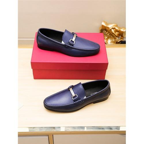 Cheap Salvatore Ferragamo SF Leather Shoes For Men #498118 Replica Wholesale [$66.93 USD] [W#498118] on Replica Ferragamo Leather Shoes