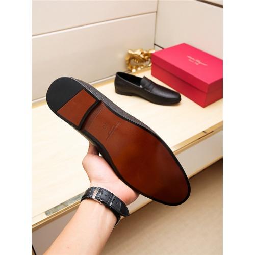 Cheap Salvatore Ferragamo SF Leather Shoes For Men #498119 Replica Wholesale [$66.93 USD] [W#498119] on Replica Ferragamo Leather Shoes