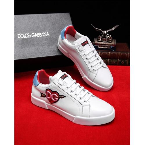 Cheap Dolce&Gabbana D&G Shoes For Men #498459 Replica Wholesale [$77.60 USD] [W#498459] on Replica D&G Casual Shoes