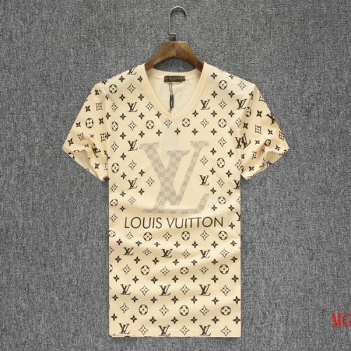 Louis Vuitton LV T-Shirts Short Sleeved O-Neck For Men #501855