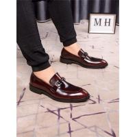 Salvatore Ferragamo SF Leather Shoes For Men #496867