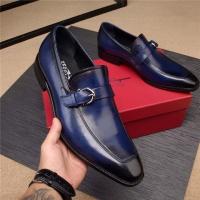Salvatore Ferragamo SF Leather Shoes For Men #496877
