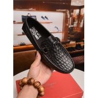 Salvatore Ferragamo SF Leather Shoes For Men #496879