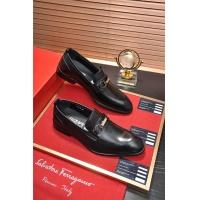 Salvatore Ferragamo SF Leather Shoes For Men #496884