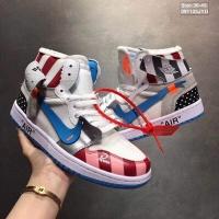 Nike Air Jordan 1 & Off-White For Men #497439