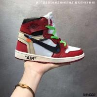 Nike Air Jordan 1 & Off-White For Men #497441